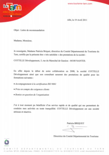 ISO 9001 - L'ADT du Tarn certifié