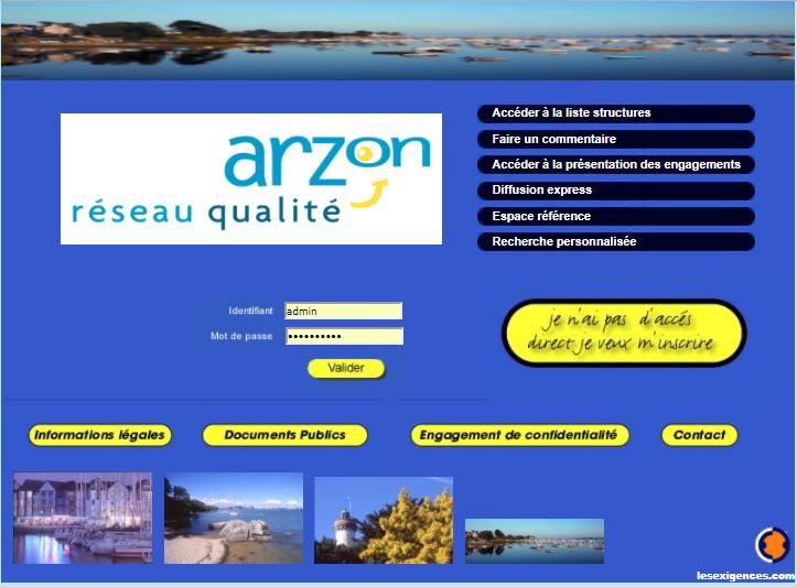 Qualité Destination - ARZON