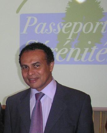 Mr le ministre du tourisme Léon Bertrand