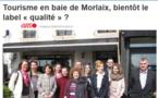 L'office de tourisme de la Baie de Morlaix - Monts-d'Arrée certifié
