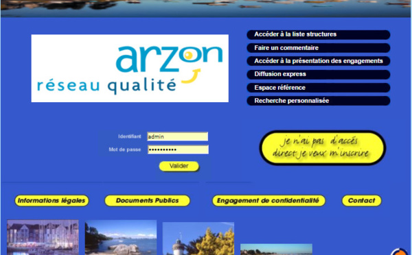 Qualité Destination - ARZON